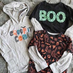 Halloween 2T Shirt Lot